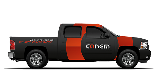 Canem Truck design car wrap