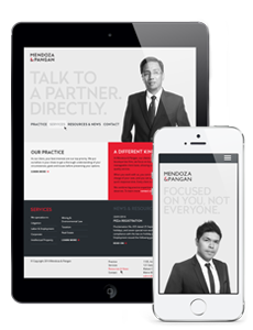 Law Firm Responsive Website Design
